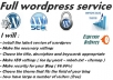 Install Wordpres + settings + Seo + security and more
