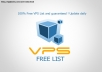 give List of Free VPS