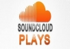 provide 10,000 soundcloud plays in your selected track