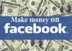 show you how to make massive profits with facebook