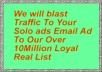 blast Traffic To Your Solo ads Email Ad To My Over 10Million Loyal Real List