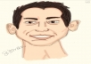make you into a Caricature (exaggerated cartoon)