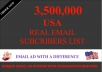 Submit Your Email/Solo Ad to My 3,500,000 USA Subscribers