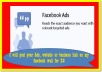 post your ads or website link to 1,550,000 fans on  my face book wall