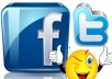give you real quality 5000 twitter followers or 2000 facebook fanpage Likes