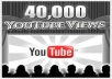 give you 40,000 youtube views