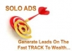 show you how to get lots of QUALITY traffic using stupid simple solo ads