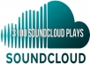 give you 3100 Soundcloud plays of your track