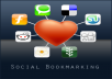 create 100 social bookmarks to your website for $10