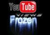 unfreeze youtube video of 301+ views and bring it over 5,000 views