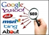 send you Unlimited Google Keyword targeted traffic with Guarantee