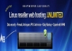 give you linux reseller hosting account only