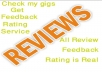 Provide You Real 8 Reviews, Ratings or Feedback for Your Website, Products or Services