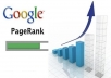 Increase your page rank in google
