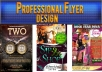 design a PROFESSIONAL Flyer or Brochure for