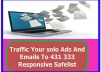 traffic Solo Your ADS And Emails To 3000 Responsive Safelist