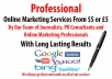 do online marketing with long lasting results