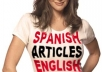 write two 300-word professional articles in SPANISH