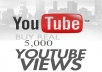 offer you 5k youtube high retention views.
