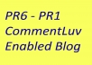 give you 345 CommentLuv enabled PR6 to PR1 blog list within 24hrs