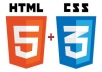 Provide you HTML Website Template