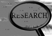 Do 2 hours research on any topic