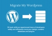 migrate your wordpress blog / website