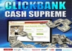 Create 5 Money Making Websites Promoting Clickbank Products On 5 Hot Evergreen Niches