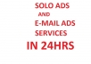 Broadcast Your Email Ads Or Solo Ads To Our Loyal 35,000 Subscribers