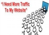 GET 2500 adsense safe VISITORS (TRAFFIC) to your website or blog