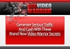 give you SEO Warrior video with PLR