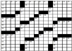 create a 15x15 crossword puzzle where you are the star of it