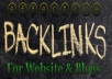 create 5000 Effective BACKLINKS Your site Or Blog With Pings n Detailed Report