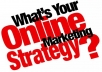 give you an Online Marketing strategy template guide
