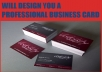 design you a PROFESSIONAL Business