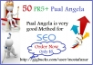 Create 50 PR5+ Pual Angela Profile Backlinks
