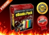 Give you 255 fully unrestricted plr ebooks