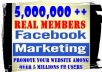 Fast drop your solo ads to 20 million +5 million Facebook users within 24 hours