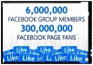 Fast drop your link,business,product,to 6,000,000 Facebook users in less than 24 hours + BONUS