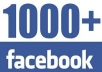 give you 1000 Real facebook Photo OR Post OR Fanpage likes