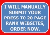 summit your press release to top 20plus page rank for backlinks