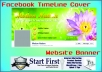 do Professional Facebook Cover or YouTube Banner
