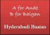 translate your English text into Funny Hyderabadi audio