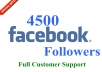 Give you 4500 Facebook Followers to your Profile
