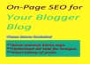 setup OnPage SEO to your blogger blog within 24hrs