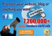promote anything in Facebook with 7,200,000 members