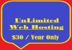 provide a Linux UnLimited Web Hosting account