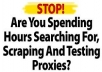 send you a PROXY List Fresh, Scraped Today with Over 1000+ Working Proxies