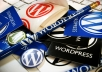 install WordPress and a theme for you within 24 hours