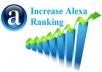 improve your website alexa ranking Any Country